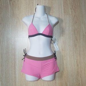 Calvin Klein 6 Swimsuit 2 Pc Set Triangle Top